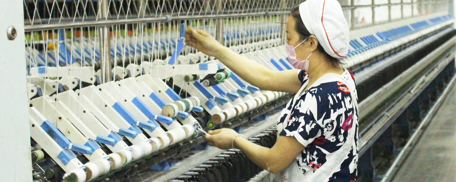 色纺纱厂家